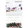 Retail Ready Package of Swarovski 2038 Hot Fix Rhinestones FlatBack 10ss Emerald 100 pcs