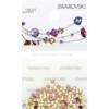 Retail Ready Package of Swarovski 2038 Hot Fix Rhinestones FlatBack 10ss Jonquil 100 pcs