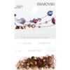 Retail Ready Package of Swarovski 2038 Hot Fix Rhinestones FlatBack 10ss Light Colorado Topaz 100 pcs
