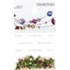 Retail Ready Package of Swarovski 2038 Hot Fix Rhinestones FlatBack 10ss Peridot 100 pcs