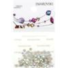 Retail Ready Package of Swarovski 2058 Rhinestones FlatBack 9ss Crystal AB 115 pcs