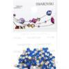 Retail Ready Package of Swarovski 2058 Rhinestones FlatBack 9ss Capri Blue 115 pcs