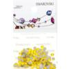 Retail Ready Package of Swarovski 2058 Rhinestones FlatBack 9ss Citrine 115 pcs