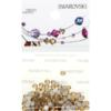 Retail Ready Package of Swarovski 2058 Rhinestones FlatBack 9ss Light Colorado Topaz 115 pcs