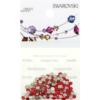 Retail Ready Package of Swarovski 2058 Rhinestones FlatBack 9ss Light Siam 115 pcs