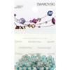 Retail Ready Package of Swarovski 2058 Rhinestones FlatBack 9ss Light Turquoise 115 pcs