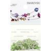 Retail Ready Package of Swarovski 2058 Rhinestones FlatBack 9ss Peridot 115 pcs