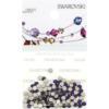 Retail Ready Package of Swarovski 2058 Rhinestones FlatBack 9ss Purple Velvet 115 pcs