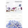 Retail Ready Package of Swarovski 2058 Rhinestones FlatBack 9ss Sapphire 115 pcs