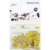 Retail Ready Package of Swarovski 2088 Rhinestones FlatBack 12ss Citrine 100 pcs
