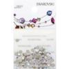 Retail Ready Package of Swarovski 2088 Rhinestones FlatBack 12ss Crystal AB 100 pcs