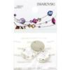 Retail Ready Package of Swarovski 3200 Rivoli Rhinestones 12mm Crystal 3 pcs