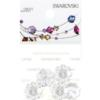 Retail Ready Package of Swarovski 3700 Margarita Rhinestones 10mm Crystal unfoiled 5 pcs
