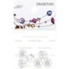 Retail Ready Package of Swarovski 3700 Margarita Rhinestones 08mm Crystal unfoiled 6 pcs