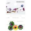 Retail Ready Package of Swarovski 3700 Margarita Rhinestones 10mm Crystal Vitrail Medium unfoiled 3 pcs