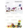 Retail Ready Package of Swarovski 3700 Margarita Rhinestones 06mm Crystal Vitrail Medium unfoiled 8 pcs