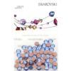 Retail Ready Package of Swarovski 2038 Hot Fix Rhinestones FlatBack 10ss Light Sapphire 100 pcs