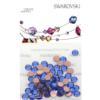 Retail Ready Package of Swarovski 2038 Hot Fix Rhinestones FlatBack 10ss Sapphire 100 pcs
