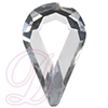 Preciosa Machine Cut Pear Shape Hot Fix Rhinestone