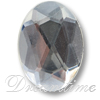 Acrylic (Lucite, Plexiglass) Oval Rhinestones 14mm x 10mm