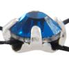 Preciosa 7192/9211 Rose Montees 12ss Capri Blue - Silver