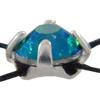 Preciosa 7192/9211 Rose Montees 12ss Emerald AB - Silver