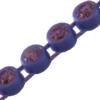 Machine Cut Rhinestone Plastic Banding 1 Row PP26 Light Amethyst/Violet