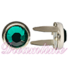 "Swarovski ""Bling in the Ring"" Pre-Set Rhinestone ss20 Emerald"