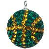 Game Time Bling Mini Basketball - Emerald/Topaz