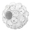 Round Pave Bead with 1.2mm hole, Alora Crystals Crystal   6 mm