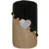 Bling for Nails Black & Gold Love Nail Design Kit (For 2 Nails)