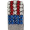 Bling for Nails Old Glory Nail Design Kit (For 2 Nails)