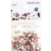 Swarovski Rose Dynasty 2088 SS12 Flat Back Mix - 144 pcs