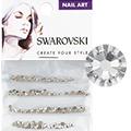 Swarovski Crystal Round Flat Backs (SS3, SS5, SS7, & SS9)