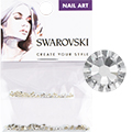 Swarovski Crystal Round Flat Backs (SS3 & SS5)
