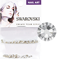 Swarovski Crystal Round Flat Backs (SS7 & SS9)