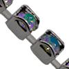 Swarovski 27001 Rhinestone Chain PP 24 CATCH FREE Paradise Shine/Silver