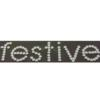 Rhinestone Sticker - Festive