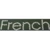 Rhinestone Sticker - French