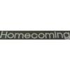 Rhinestone Sticker - Homecoming