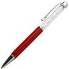 Crystal 2 in 1 Touch Screen Stylus with Pen Red