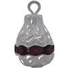 Rhinestone Pear Pendant