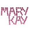 MARY KAY (Rose/Silver) Rhinestone Pin