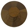 Swarovski Rose Pins 53301 ss10 Crystal Dorado