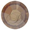 Swarovski Rose Pins 53301 ss10 Golden Shadow