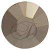 Swarovski Rose Pins 53301 ss10 Crystal Metallic Light Gold