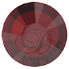 Swarovski Rose Pins 53301 ss10 Crystal Red Magma