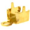 Chain end for PP24 in Gold with round crimp end