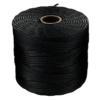 S-Lon Bead Cord in Black