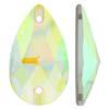 Spark Drop Sew-on Crystal AB 12x7mm